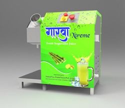 Semi Automatic Sugarcane Juice Machine, For Commercial