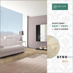 Ceramic Skin Glossy GVT PGVT Vitrified Tiles, Thickness: 10 mm, Size: 600X600 mm