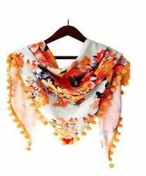 Polyester Stole Digital Sublimation Printing Service