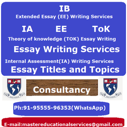 IB ToK Essay Titles and Topics