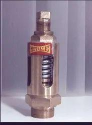 Brass Screwed Safety Valve