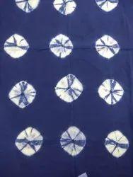 Indian Tie Dye Shibori Handmade Block Print Fabric
