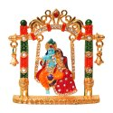 Lord Ganesha, Lord Krishna Statue / Idol Sitting On Jhula