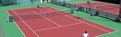 Acrylic & PU Sports Flooring Service, Anti-Skidding