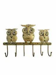 Metal 3 Owls Key Holder