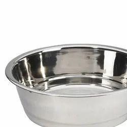 Silver Stainless Steel Wash Basin, For Hospital, Bowl Shape