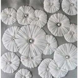 Designer Embroidered Ribbon Work