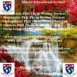 Medical Sciences PhD Thesis Writing Services-Pune
