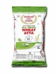 Siddharath 25公斤Chakki Fresh MP Sihori小麦Atta,包装类型:塑料袋,距包装6个月