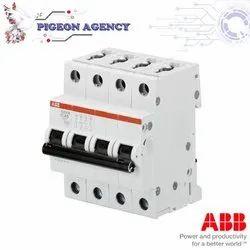ABB - SB204M - D 6A - 32A / 4 Pole - MCB