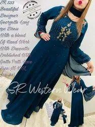 Designer Dress With Designer Dupatta