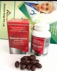 Cissus Quadrangularis L Calcium Carbonate And Vitamin D3 Softgel Capsules