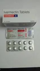 Iverbest-6 Ivermectin 6mg Tablets