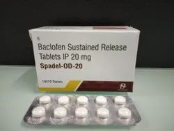 Baclofen Sustained Release Tablets