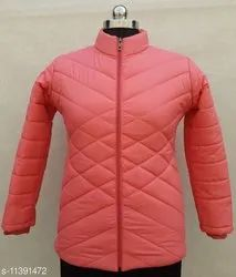 CN Polyester Ladies Winter Jackets