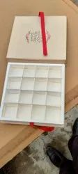 Cardboard Square Chocolate Boxes, For Gift & Crafts, Box Capacity: 1-5 Kg