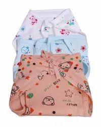 Multicolor Cotton Printed Baby Nappies