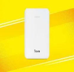 White TPB-335 Buzz Lite Power Bank