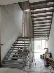 Cantilever Metal Staircase