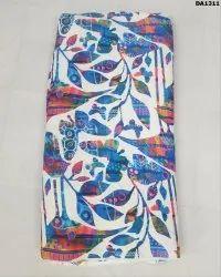 Stunning Twill Silk Digital Print Fabric