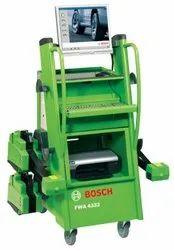 Wheel Alignment Machine And Balancer