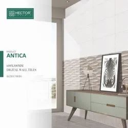 Ceramic Mosaic Multicolored Antica Digital Wall Tiles, Thickness: 8 - 10 mm, Size: 30 * 60 (cm)