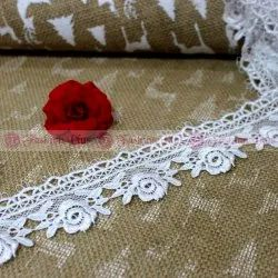 GPO Antique Flower Dul Polyester Lace