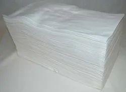 Plain White Non Woven Disposable Towels, Size: 16 X 24
