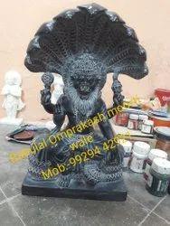 Black Marble Narsimha Statue