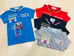 Kid&Rsquo;S Collar T-Shirt