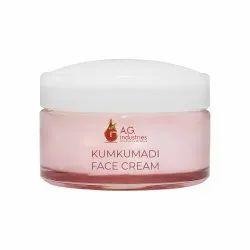 Unisex Pink Kumkumadi Face Cream, Ingredients: Herbal, Packaging Size: 150g