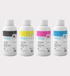 Neha GT51 Black, GT52 Color For Use In HP Ink Tank 419,415,319,315,5820,5821 (1 Litre)
