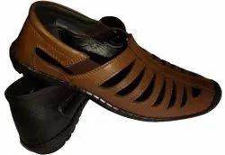 Ballerinas Brown Men Sneaker Shoes, Size: 6