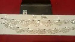 Shreeji Jewellers 925 Silver Jewelry, Size: None, 25 To 30