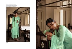 Designer Dupatta Embroidered Silk Salwar Suit
