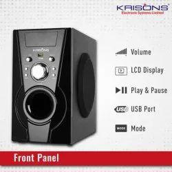 Plastic 2.0 Krisons Black Multimedia Speaker