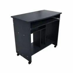 MDF Caliber 202 Computer Table, 1 Year, Black