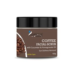 Kazima Coffee Facial Scrub, For Personal, Parlour, Packaging Size: 100 Gram