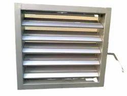 NRISP Manufactured Aluminium Industrial Ventilation Louver, Capacity: Ambient