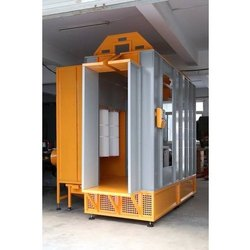 Aluminum Section Coating Booth