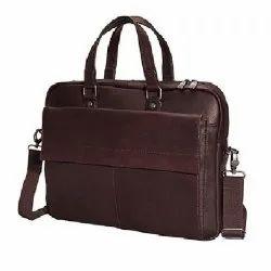 Genuine Leather Laptop Messenger Bag Organizer Bag