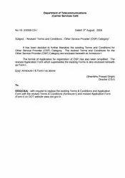 New OSP Registration Service, Delhi Ncr