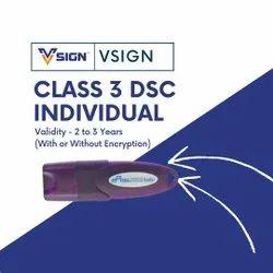 V Sign Class 3 Digital Signature Service