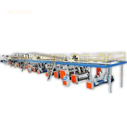 Corrugating Machinery 5 Ply Plant