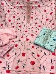 EVA Cotton Ladies Suits, Machine wash