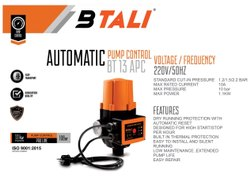 Steel BTALI PUMP CONTROLLER, Bt 13 Apc