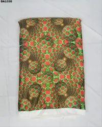 Stylish Flora Sartin Silk Digital Print Fabric