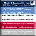 PhD Thesis Writing Services On Management In India