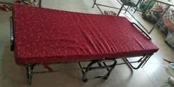 Plywood Folding Bed with Mattress