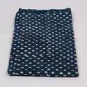 Pure Cotton Indigo Hand Block Print Fabric
